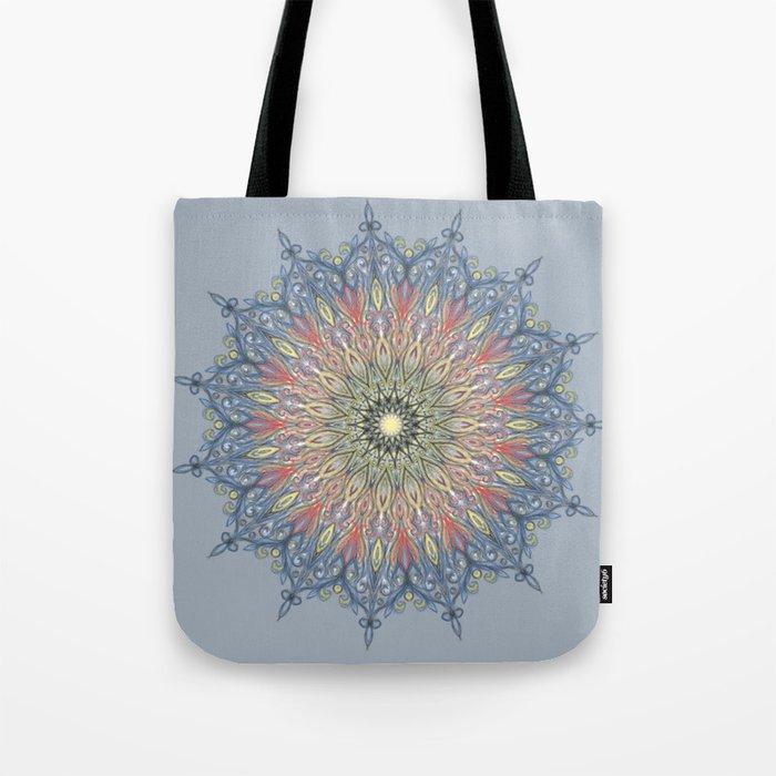 swirl mandala Tote Bag