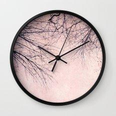rosa winter Wall Clock