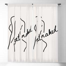 Get Naked Enjoy Life Blackout Curtain