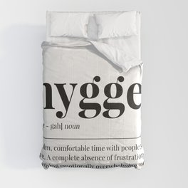 Hygge Comforters