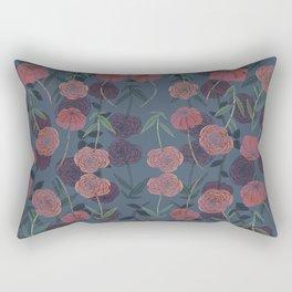 CONTINUOUS FLORAL II Rectangular Pillow