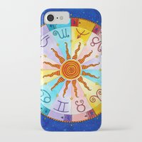 zodiac iPhone & iPod Cases featuring Zodiac by Sandra Nascimento