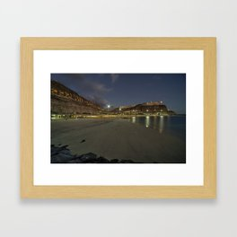 Amadores at Dusk  Framed Art Print