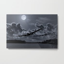 On a Wing & a Prayer Metal Print
