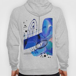 Abstract Serenade 4d by Kathy Morton Stanion Hoody