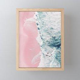 sea of love II Framed Mini Art Print