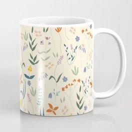 Retro Botanical Coffee Mug