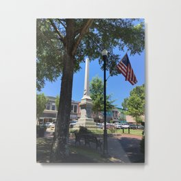 Abbeville Summer Day Metal Print