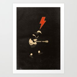 ACDC - For Those About to Rock! Art Print
