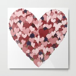 Heart of Hearts Metal Print