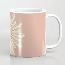 Sunburst Retro 2 - Blush Pink Coffee Mug
