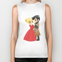 ouat Biker Tanks featuring OUAT - Captain Swan Formal by Choco-Minto
