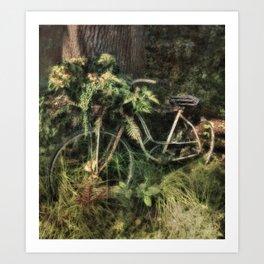 Under the Oak Tree Art Print