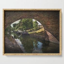 Painting Pewsey Bridge Serving Tray