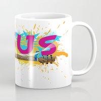 jesus Mugs featuring Jesus by Eva777