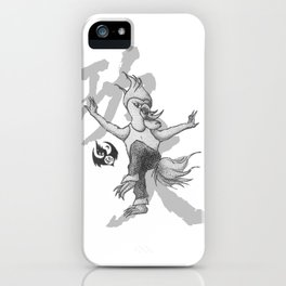 KungFu Zodiac - Rooster iPhone Case