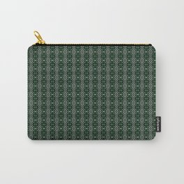 Meshed in Green Carry-All Pouch