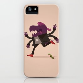 Monster 1 iPhone Case