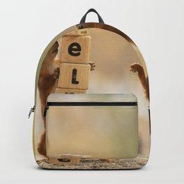 squirrel need help Backpack