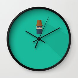 Mr. Sneaky Wall Clock