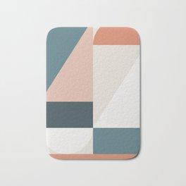 Cirque 01 Abstract Geometric Bath Mat