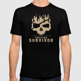Tahitian Survivor Skull T-shirt