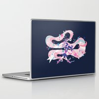 magical girl Laptop & iPad Skins featuring magical girl by Kyungmi Park