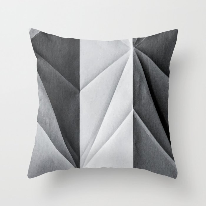 Folded Paper 1 Throw Pillow