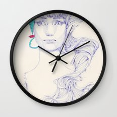 Familiar Places Wall Clock