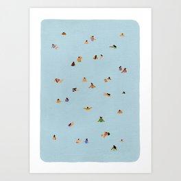 Dusty blue II Art Print