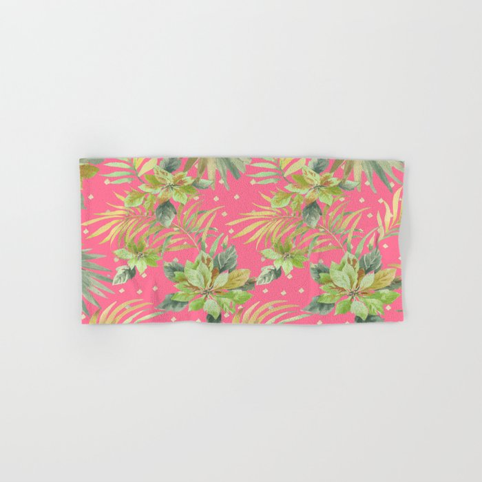 tropical summer warm Hand & Bath Towel