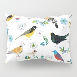 Polish birds Pillow Sham