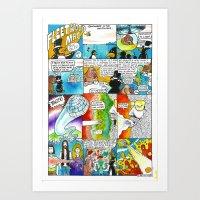 fleetwood mac Art Prints featuring Fleetwood Mac by Ben Montero