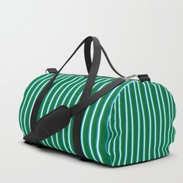 Between the Trees Forest Green, Green & Blue #811 Duffle Bag