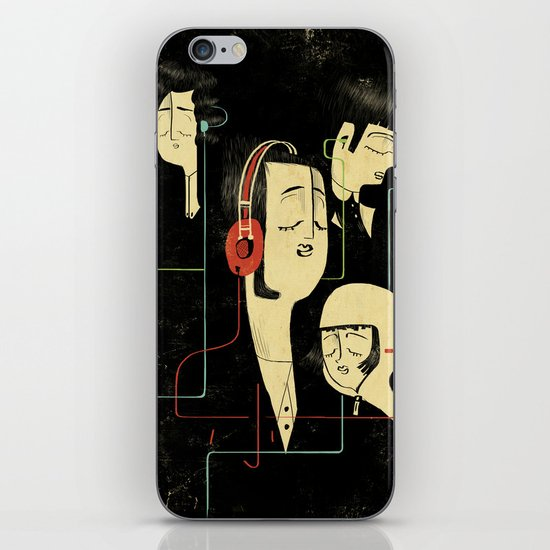 乐 Music Lovers / Vintage iPhone & iPod Skin