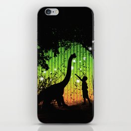 Off world adventure iPhone Skin