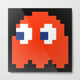 8-Bits & Pieces - Blinky Metal Print