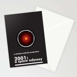 2001: A Space Odyssey - HAL 9000 Stationery Cards