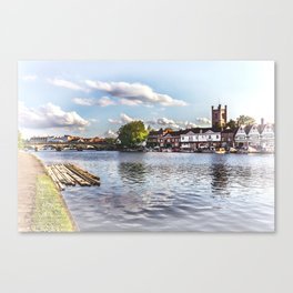 Preparing For The Royal Regatta Canvas Print