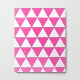 Mesmerize - Pink Metal Print
