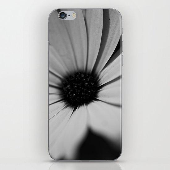 Black Daisy iPhone & iPod Skin