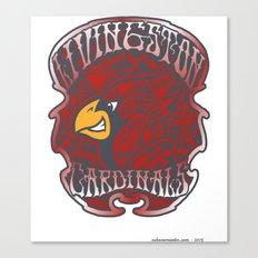 Livingston County Cardinals Canvas Print