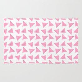 pink pattern Rug