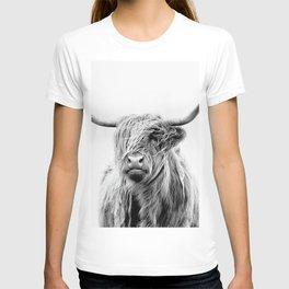 Portrait of a Highland Cattle T-shirt