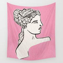 Venus de Milo statue Wall Tapestry