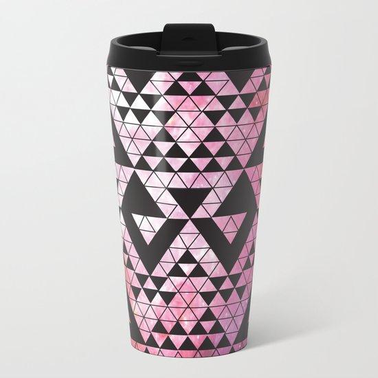 Space Triangles No. 2 Metal Travel Mug