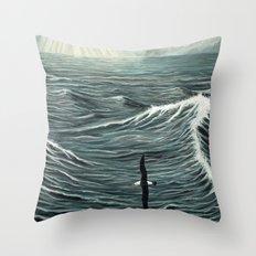 Oceanic Wanderer Throw Pillow