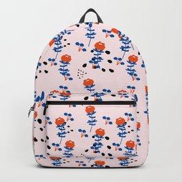 Illustrated Garden Pattern Backpack