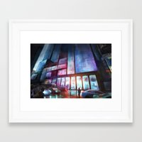 cityscape Framed Art Prints featuring Cityscape by Laurens Spruit