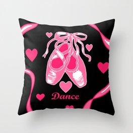 Love Dance Throw Pillow